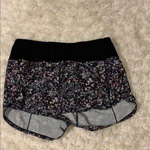 Lululemon printed shorts